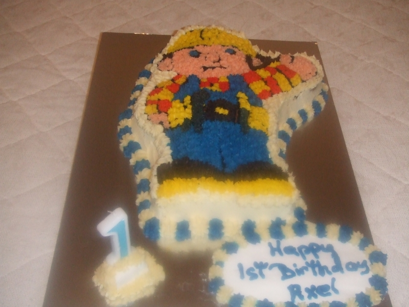 Axel's 1st Birthday - Bob the Builder Birthday Cake