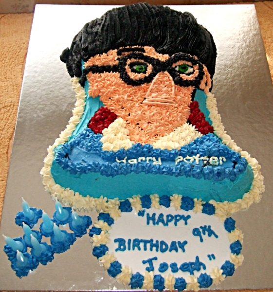 Joseph's 9th Birthday - Harry Potter Birthday Cake
