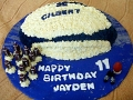 Jayden's 11th Birthday - Football Birthday Cake