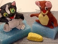 Tom and Jerry Models for Jeremy's Birthday Cake