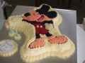 Saxon's 2nd Birthday - Mickey Mouse Birthday Cake