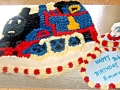 Emerson's 3rd Birthday  - Thomas the Tank Engine Birthday Cake