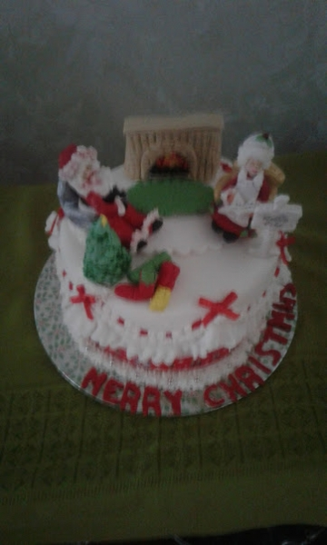 2017 Christmas cake orginal design
