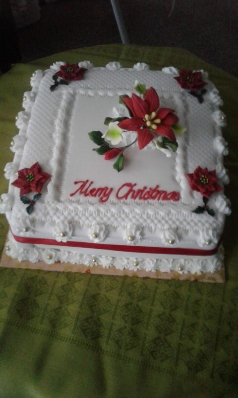 Christmas Cake 18 December 2018