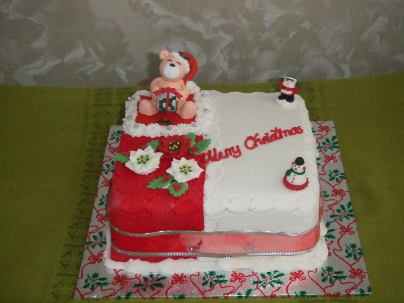 Christmas cakes -New Year Cake 20th December 2016 001