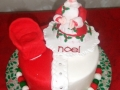 Mrs Claus Christmas Cake