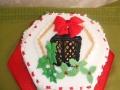 Chrsitmas lantern cake -top view