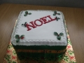 Noel Christmas cake
