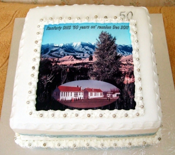 Ranfurly DFS 50th Reunion Cake