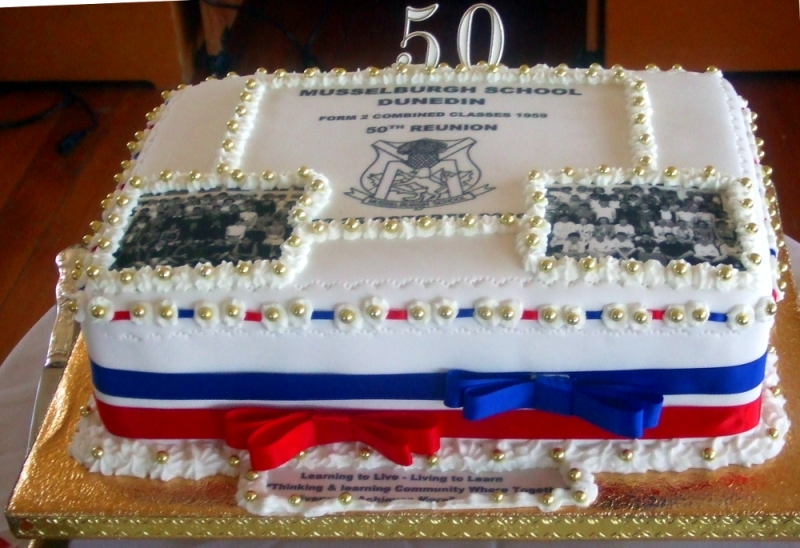 Musselburgh Class of 1959 50th Reunion Cake
