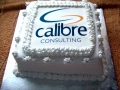 Corporate cake for Cailbre