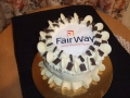 Corporate cake for Fairway