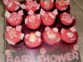 Heavenly Chocolate Mini Cup Cakes for Baby Shower