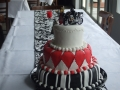Zoe's Modern 3 Tier Wedding Cake