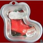 Santa stocking-mini 10cm