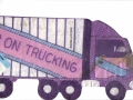 18 Wheeler Semi Truck Cake Tin