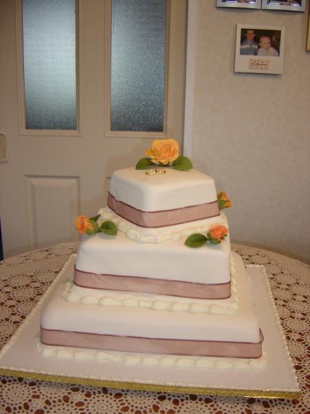 Amanda's 3 Tier Wedding Cake