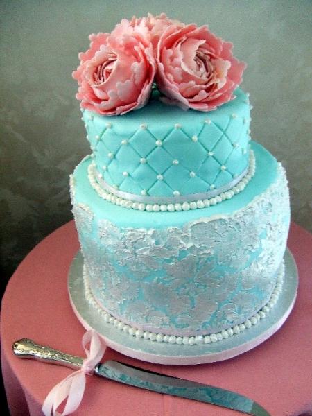 Anna & Hugh's Wedding Cake