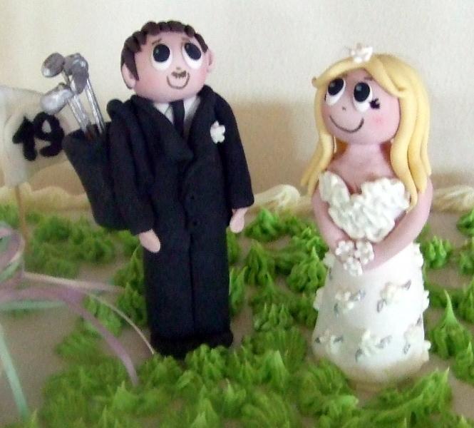 Fiona & Allan's Wedding Cake Topper