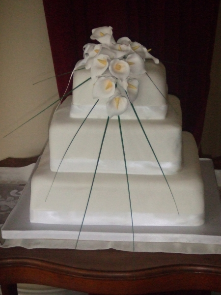 Fiona's Wedding Cake