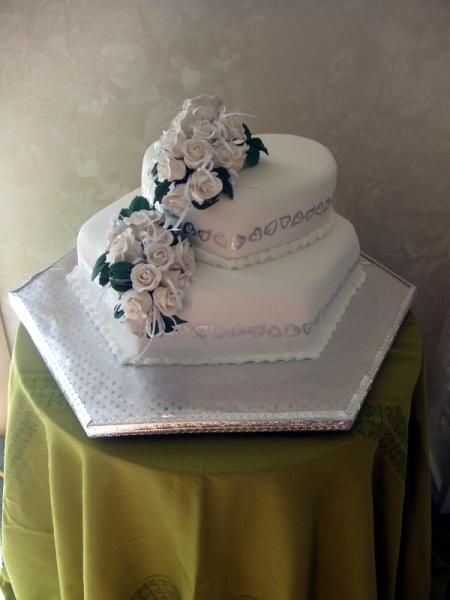 Jasmine's Wedding Cake
