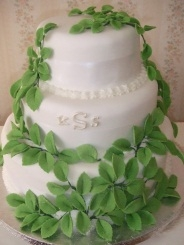 Jocelyn's 3 Tier Stacked Wedding Cake