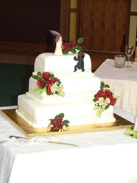 Karyn's Wedding Cake