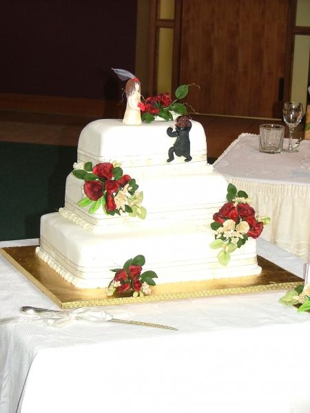 Karyn's Wedding Cake