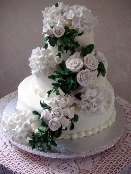Sally & Frasers Wedding Cake