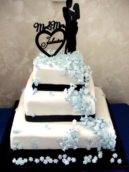 Hayley & Josh Johnston's Wedding Cake