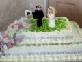 Fiona & Allan's Wedding Cake