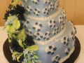 Rebecca's 3 Tier Stacked Heart Wedding Cake