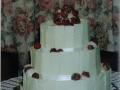 Sue's White Chocolate and Strawberries Wedding Cake