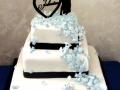 Hayley & Josh Johnston's Wedding Cake