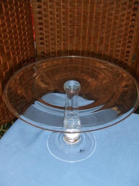 Round Glass Cake Stand