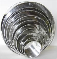assorted round cake tin sizes