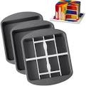 checker square cake tin
