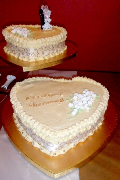 Kris and Shereena's Wedding Cake