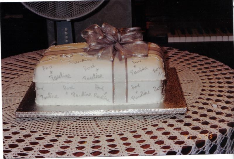 Pauline's Wedding Cake