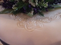 Clare's Celtic Design on her Wedding Cake