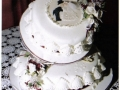 Dot's 2 Tier Traditional Round Cake
