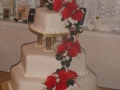Melissa's 3 Tier Wedding Cake with a Modern and Traditional Design