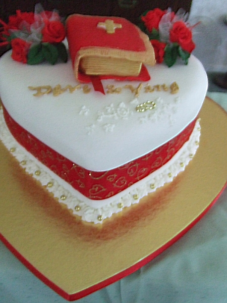 Dave & Ying (Grace)'s Wedding Cake