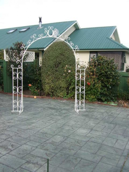 Bridal Archway Available for Hire - height 6ft, width from prongs 3ft