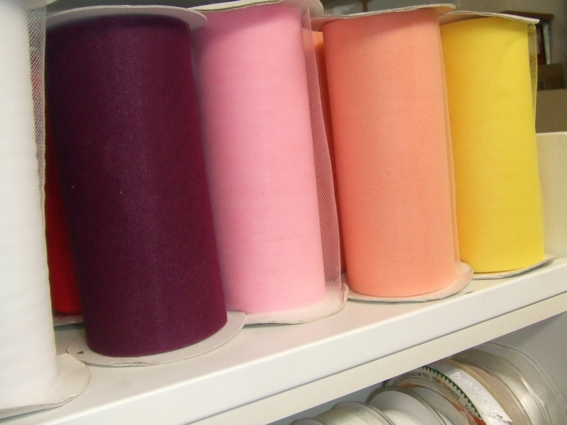 Selection of Assorted Colour Nets
