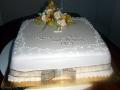 Peter and June's 50th Wedding Anniversary Cake